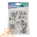 Jane Davenport Clear Stamp Set Crafty Minx JDS-045