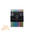 Kelly Creates Metallic Jewel Brush Pens 8/Pkg #343555