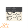 Kelly Creates Acrylic Traceable Stamps - Wreaths #348276