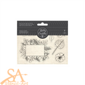 Kelly Creates Acrylic Traceable Stamps - Tropicals #348278