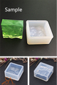 Silicone Resin Mould – Square Pendant Glass Effect 36x36x17mm