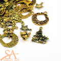 Tibetan Style Mixed Charms 50g - Christmas