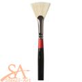 Daler-Rowney Georgian Brushes Series 84 - Fan - No 2 (25x18mm)