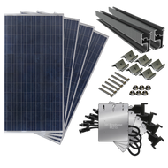 1000 Watt Complete Solar Kit for Every Roof with Microinverters
