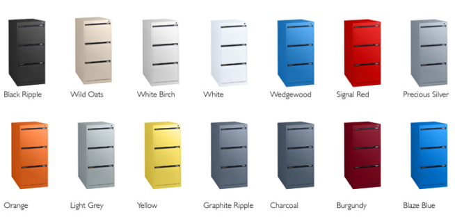 Statewide Filing Cabinets - a colour for every office