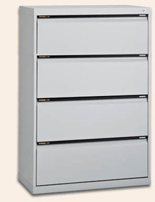 Statewide Lateral Filing Cabinet - 4 Drawer