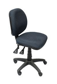 Rapidline EC070CM Fully Ergonomic Medium Back Office Chair