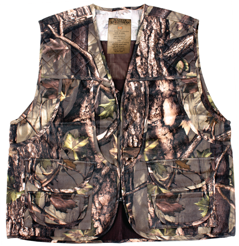 QuietWear Camo Hunting Vest with Game Bag | Bass Pro Shops