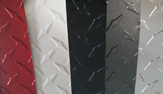 ... wide variety of colors of diamond plate offered by CutsMetal & Blog