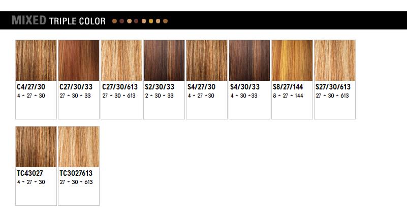 WigExtensionSale Web Pages: Outre Color Chart - photo #10