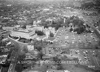 """Hackensack Court House, 1955"" 30x40 Mounted Canvas Print"