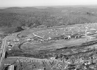 """""""Ford Plant, Mahwah, 1962 """" 30x40 Mounted Canvas Print"""