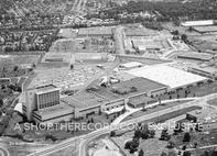"""""""Nabisco Plant, Fair Lawn 1966 """" 30x40 Mounted Canvas Print"""
