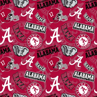 UNIV. OF ALABAMA-AL-1178 COTTON 1 YARD CUTS