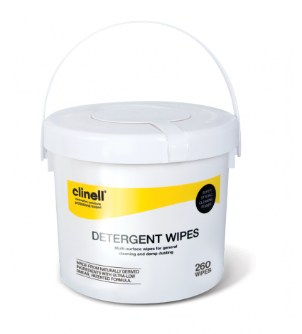 Clinell Detergent Wipes Tub