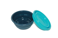 Serving Bowl shown in Marlin Blue and Caribbean.