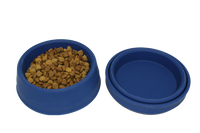 Pet Bowl (6+ cup) - Collapsible - Available in Red and Blue