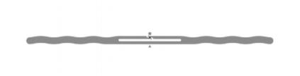 Alien SlimLine RFID White Wet Inlay (ALN-9745, Higgs-4) | ALN-9745-WRW