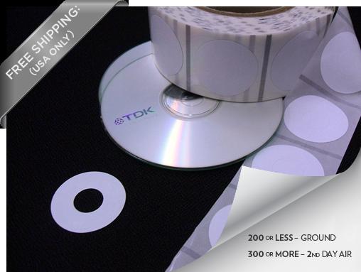 RFID DVD Tag & Label For DVDNow Kiosks & Model s250 Kiosks