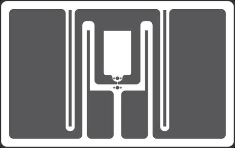 Tageos EOS-300 RFID Apparel Tag (Monza R6) | 3000000040