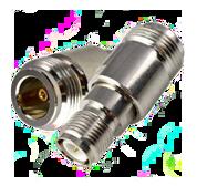 Coaxial Adapter, RP-TNC Female to N Female | RFA-N/F-RPTNC/F-STD