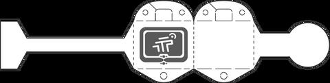 Tageos EOS-100 RFID Jewelry Tag | 1000000004 / 1000000003