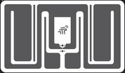 Tageos EOS-220 RFID Small-Item & Apparel Tag (Monza R6-P) | 2000000011