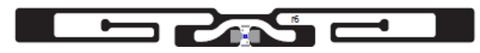 Avery Dennison AD-229r6 UHF RFID Dry Inlay (Monza R6) | RF600592