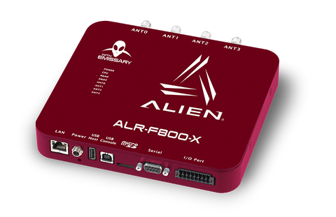 Alien ALR-F800-X Enterprise RFID Reader With Emissary (902-928 MHz) [Clearance] | ALR-F800-X-RDR-ONLY-C