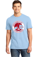 The 2020 State Finals tee is Ice Blue and features the Governor's Cup State Finals logo in burgundy and white. Price includes shipping from Frankfort.