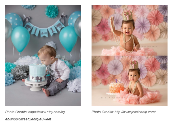 7 Decors For Your Cake Smash Backdrop Give Fun