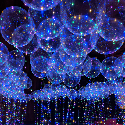 Confession Balloon 告白气球 with Colorful LED Lights (22inch)