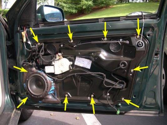 1999-2005 Audi TT MK1 Type 8N Left Front Window Regulator Repair Kit
