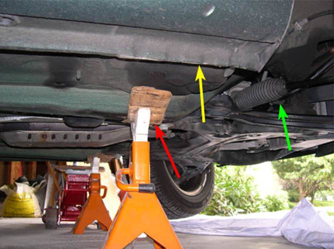 Lubricating And/Or Replacing Sway Bar Bushings