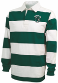 Mean and Green Rugby Stripe Polo