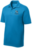 Delmarva Rugby Performance Polo, Sapphire