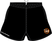 Nuts & Jugs SRS Pocketed Performance Rugby Shorts, Black