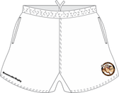 Nuts & Jugs SRS Pocketed Performance Rugby Shorts, White