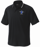 Diplomats Rugby Performance Polo, Black