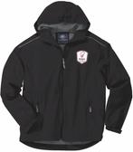 Rugby Illinois Rain Jacket, Black