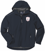 Rugby Illinois Rain Jacket, Navy Blue