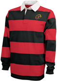 Maryland Exiles Girls Rugby Stripe Polo