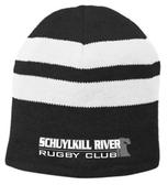 Schuylkill River Fleece-Lined Stripe Beanie