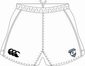 Tempests CCC Advantage Shorts, White