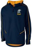 SMCM Rugby 1/4-Zip Hooded Jacket
