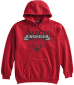 Coventry Rugby Wildcats Hoodie, Red