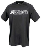 Charm City Knights Performance Tee, Black