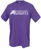 Charm City Knights Performance Tee, Purple