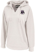 Charm City Knights Ladies-Cut Hoodie, Antique White