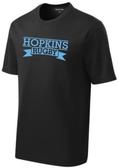 Hopkins Men's Rugby Performance Tee, Black